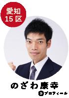 愛知15区 のざわ康幸