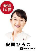 愛知14区 安間ひろこ