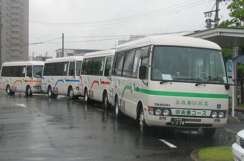大府市ふれあいバス(市役所にて)