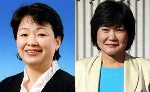 木村清美さん(左)、山下節子さん(右)